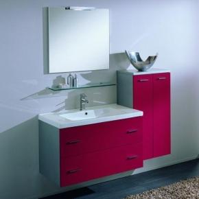 Зеркала для ванной. Idea Stella Idea Зеркало в алюминиевой раме 70x68 + светильник