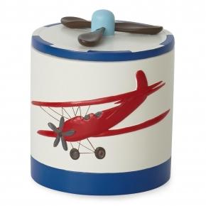 Аксессуары для детских ванных комнат. Косметическая емкость с крышкой In Flight AIF-CJ-MUL