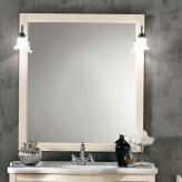 Зеркала для ванной. Eban Зеркало в раме Arianna/Eleonora/Linda/Federica 86x106h pergamon