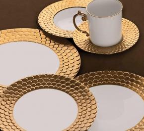 Посуда Столовые приборы Декор стола Deluxe. Кофейный набор Aegean Gold
