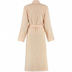 Халаты Одежда для бани и сауны.          Халат женский 7131. Кремовый