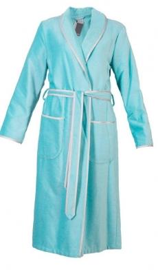 Халаты Одежда для бани и сауны.          Халат женский CAWO 4321 404