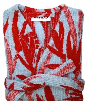 Халаты Одежда для бани и сауны Deluxe. Халат женский кимоно (S; M; L) Paradise Piment (Парадиз Пимент) от Kenzo