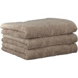 "Хлопковые полотенца.          Полотенце CAWO ""Life Style"" 7007 Бежевый"