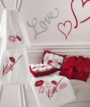 Полотенца хлопковые Deluxe. Банное полотенце Mille Baci от Blugirl Art.78538