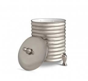 Подсвечники Deluxe. Подсвечник с парфюмированной свечой Canister Platinum