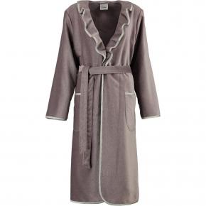 Халаты Одежда для бани и сауны.          Халат женский 4318. Серый