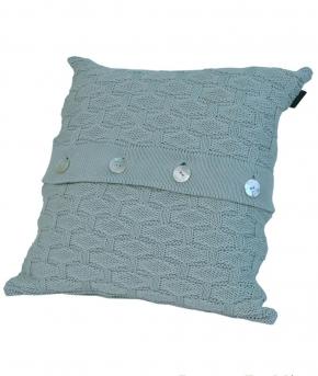 Декоративные подушки. Декоративная подушка PONTE VECCHIO (40х40) Морская Пена от Casual Avenue