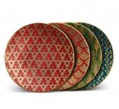 Посуда Столовые приборы Декор стола Deluxe. Набор из 4 тарелок для канапе Fortuny Canape Mixed