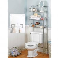 Этажерки для ванной. Набор держателей для аксессуаров и полотенец Complete Bath Series 20060-NI этажерка