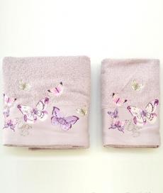 . Комплект полотенец для лица и рук Castadiva Сиреневый от Blugirl art.78672-16
