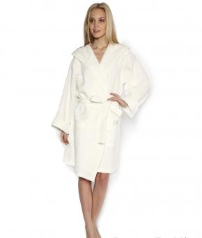 Халаты Одежда для бани и сауны Deluxe. Халат Вафельный St Tropez Жемчужны (S/M; L/XL) от Blumarine Art.78625-6