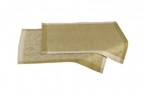 Скатерти Дорожки Салфетки.          Комплект салфеток зеленые 50х50см-2шт
