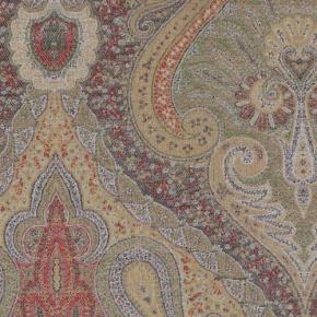 Ткани Deluxe. Duchess Paisley - Classic ткань шерсть - хлопок