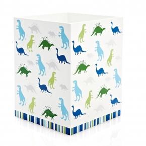 Аксессуары для детских ванных комнат. Корзина для мусора Dino Park ADP-WB