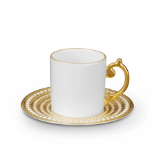 Посуда Столовые приборы Декор стола Deluxe. Кофейный набор Perlee Gold
