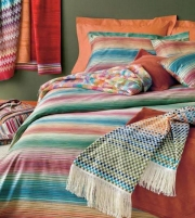 Постельное бельё Deluxe. Постельное белье королевское Ottavio (240×220) Разноцветный от Missoni