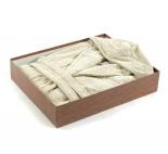 Халаты Одежда для бани и сауны Deluxe. Халат банный хлопковый