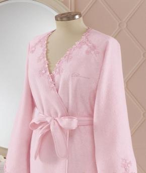 Халаты Одежда для бани и сауны Deluxe. Халат банный Lisa от Blumarine Art.78678-78679-78680