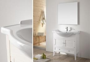 Мебель для ванной комнаты. Eban Arianna 86 композиция Т7 мебель для ванной
