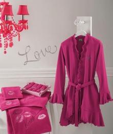 Халаты Одежда для бани и сауны Deluxe. Халат Love от Blugirl Art.78528-9