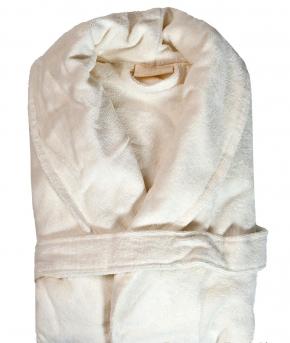 Халаты Одежда для бани и сауны Deluxe. Халат банный с сумочкой Positano Жемчужный (L/XL) от Blumarine Art.78504-78505