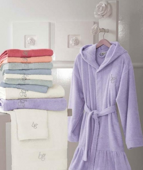 Халаты Одежда для бани и сауны Deluxe. Халат Blue Ginger от Blugirl Art.78542-3-4