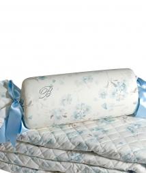 Декоративные подушки Deluxe. Декоративная подушка Armonia от Blumarine (36см.) Голубой, Розовый, Желтый Art.71748