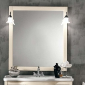 Зеркала для ванной. Eban Зеркало в раме Linda/Federica/Carla 70x90h pergamon
