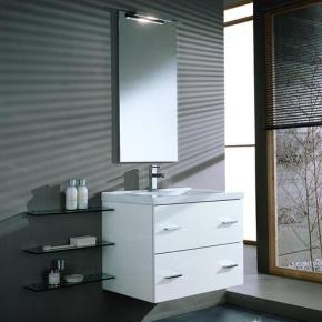 Зеркала для ванной. Idea Stella Idea Зеркало в алюминиевой раме 47x95 + светильник