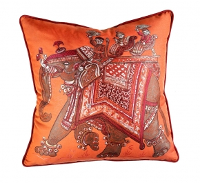 Декоративные подушки Deluxe. Подушка Beloved India Jacquard