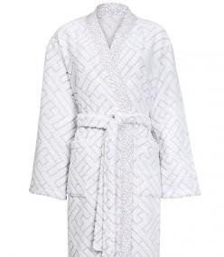 Халаты Одежда для бани и сауны Deluxe. Халат женский кимоно (S; M; L) Lacelogo Grege (Лейслого Греж) от Kenzo