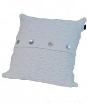 Декоративные подушки. Декоративная подушка PONTE VECCHIO (40х40) Слоновая Кость от Casual Avenue