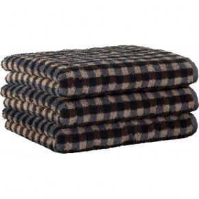 """Хлопковые полотенца.          Полотенце CAWO """"Allover"""" 531 Коричневый"""