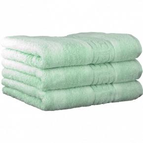 "Хлопковые полотенца.          Полотенце CAWO ""Nobless"" 1001 Мята"