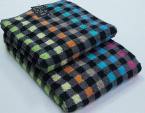 "Хлопковые полотенца.          Полотенце CAWO ""Cubes"" 516 Мультицвет"