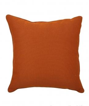 Декоративные подушки. Декоративная подушка (42х42) Radio оранжевая от Kvadrat