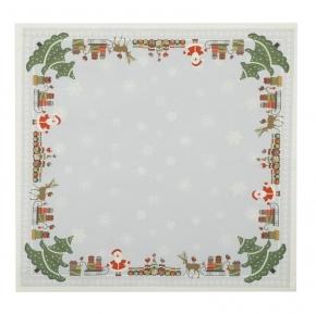 Скатерти Дорожки Салфетки. BH Комплект из 4-х салфеток CHRISTMAS 40х40 см 32-40