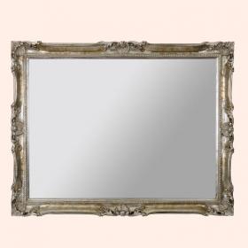 Зеркала для ванной. EBAN Зеркало LUIGI XV 92x72см серебро