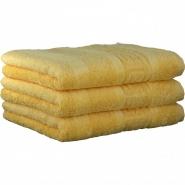 "Хлопковые полотенца.          Полотенце CAWO ""Nobless"" 1001 Ваниль"