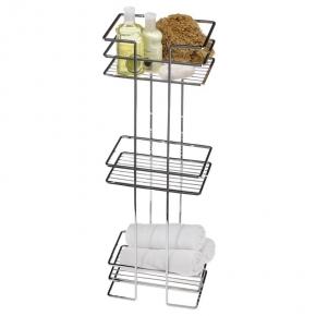 Этажерки для ванной. Держатель для полотенец напольный Deco Series 20026-CH этажерка
