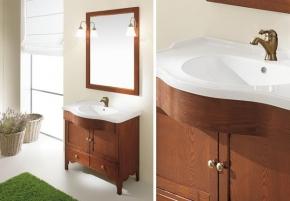Мебель для ванной комнаты. Eban Federica 90 композиция Т17 мебель для ванной