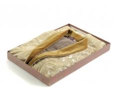 Халаты Одежда для бани и сауны Deluxe. Халат кабинетный (шелк + кашемир)
