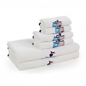 Текстиль для детей: полотенца, халаты, постельное бельё и др.. Полотенце банное Pirates BEM-109-PRT-W