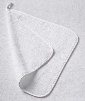 Текстиль для детей: полотенца, халаты, постельное бельё и др.. Махровое полотенце (35х35) Белый от Fiori di Venezia