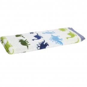 Текстиль для детей: полотенца, халаты, постельное бельё и др.. Полотенце банное Dino Park с рисунком BDP-109 MUL