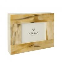 Рамки для фотографий Deluxe. Рамка для фотографий Horn & lacquer by Arca Padua Светлая