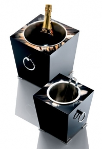 Посуда Столовые приборы Декор стола Deluxe. Вёдра для шампанского и льда Horn & lacquer by Arca Livorno Champagne cooler & ice bucket