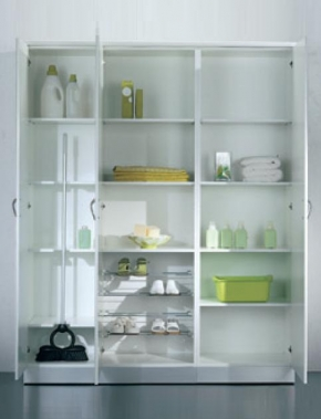 Итальянские постирочные раковины Мебель и оборудование для постирочной комнаты. Lavatoi Shelf Мебель для постирочной комнаты шкафы высокие
