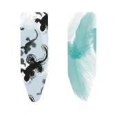 Аксессуары для стирки и глажки. Сменный чехол для гладильной доски 124х38см (размер B) со слоем фетра 4мм + поролона 4мм